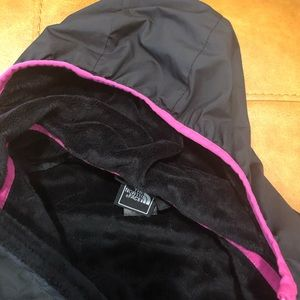 The North Face Rain Jacket Lined with Fleece